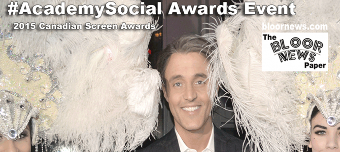 #AcademySocial with Ben Mulroney about Canadian film + TV