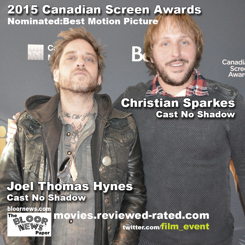 2015 CANADIAN SCREEN AWARDS: Best Motion Picture